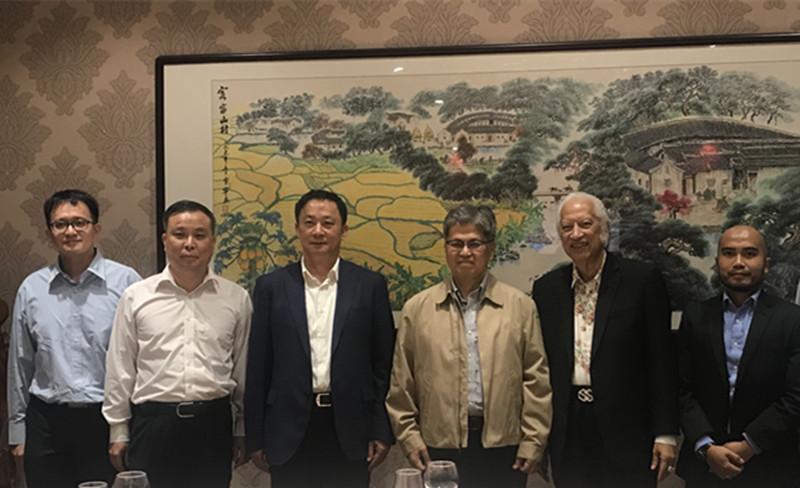 印尼驻广州总领事馆访问团来梅访问
