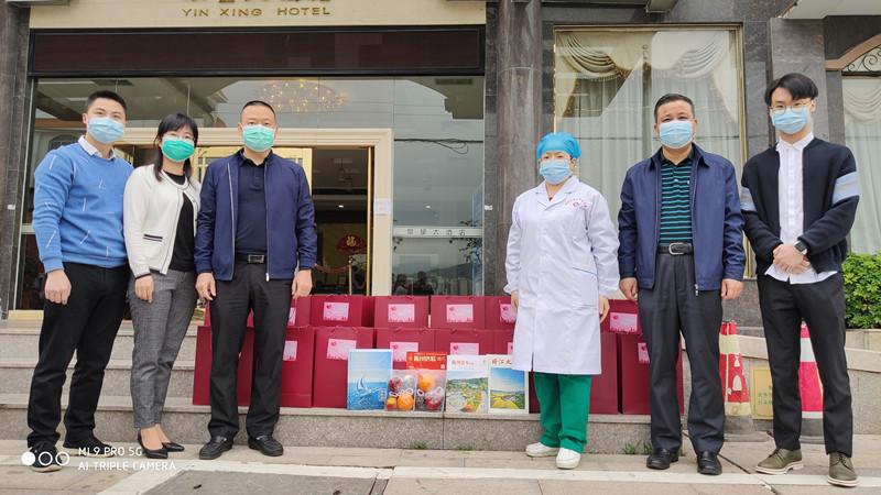 梅州市侨联以侨连心鼓励回国留学生携手战疫,用爱化解困难